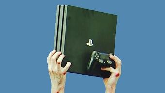 PS4 Pro, Anuncio Ochentero (UK)