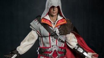 Esta figura de Ezio de Assassin's Creed II no debería faltar en tu colección