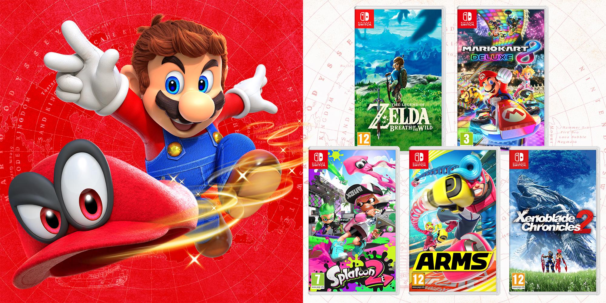 Gana Juegos Para Nintendo Switch Con 3djuegos Y Miodiseamario