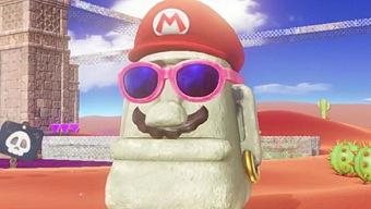 Video Super Mario Odyssey, Demostración Gameplay: Sand Kingdom & New Donk City