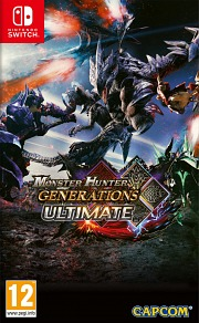 Carátula de Monster Hunter Generations Ultimate - Nintendo Switch