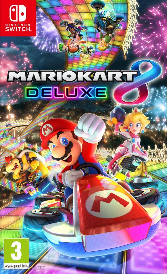 Carátula de Mario Kart 8 Deluxe