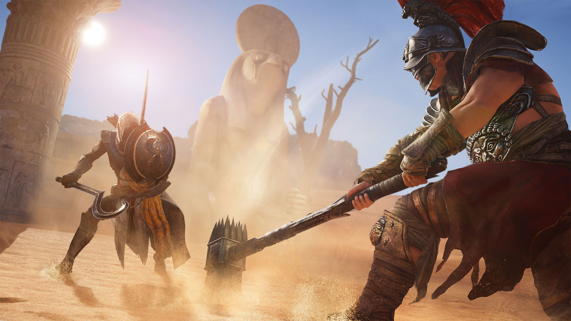 Assassin's Creed Origins - Armas raras y dónde conseguirlas