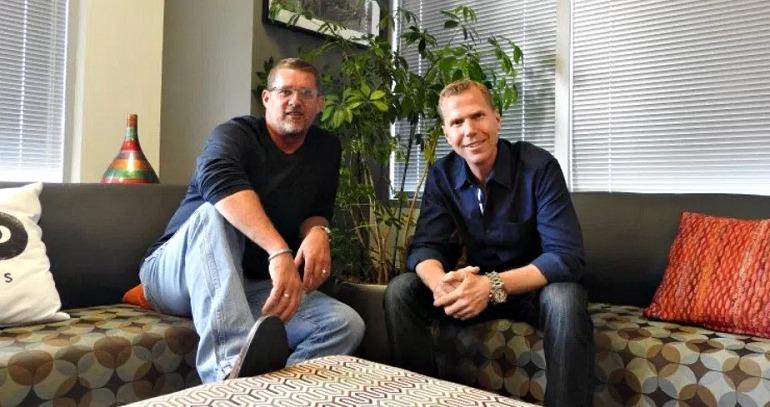 Glen Schofield (izquierda) y Michael Condrey (derecha)