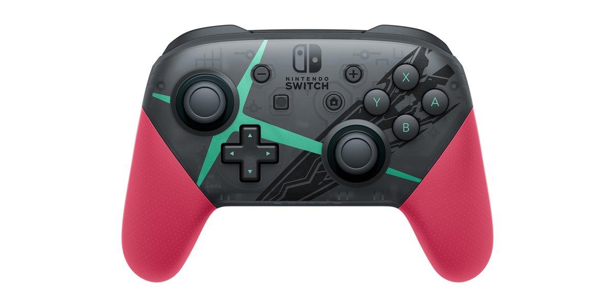 Así es el mando Pro de Xenoblade Chronicles 2 para Nintendo Switch