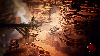 Octopath Traveler, gameplay de un muy buen JRPG