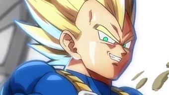Vegeta muestra su poder en un nuevo vídeo de Dragon Ball Fighter Z