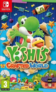 Carátula de Yoshi's Crafted World - Nintendo Switch