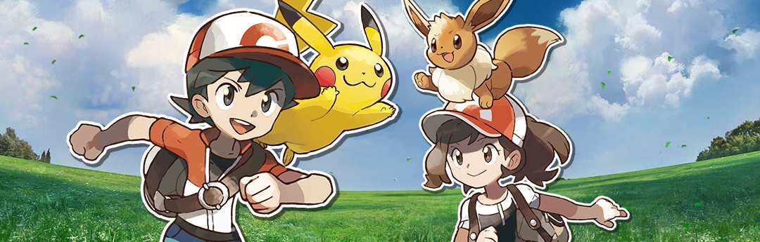 Analisis De Pokemon Let S Go Pikachu Pokemon Let S Go Eevee