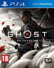 Carátula de Ghost of Tsushima - PS4