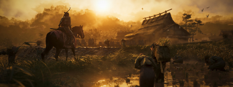 Image of a Ghost of Tsushima