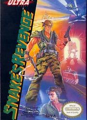 Carátula de Snake's Revenge - NES