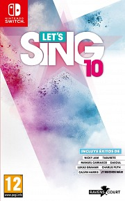 Carátula de Let's Sing 10 - Nintendo Switch