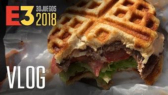 E3 2018 - 3DJUEGOS - VLOG 3 ¡La Gofre Hamburguesa!