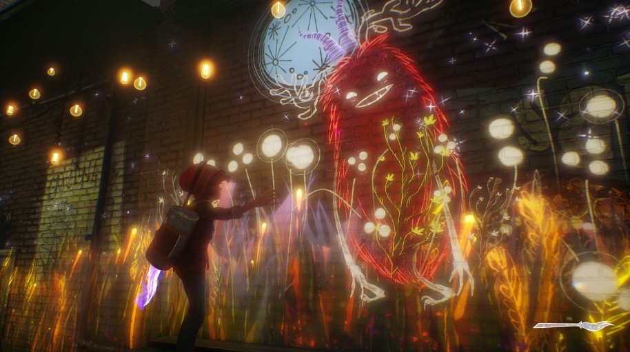 Concrete Genie: Concrete Genie: pintando un mundo nuevo desde PS4