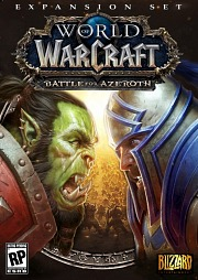 Carátula de World of Warcraft: Battle for Azeroth - PC