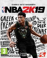 Carátula de NBA 2K19 - PS4