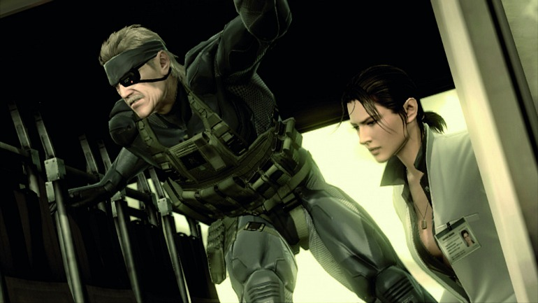 Metal Gear Solid IV.