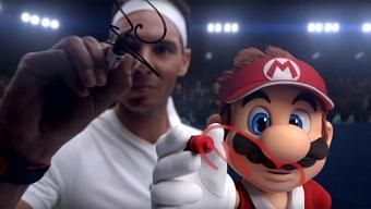 Rafa Nadal protagoniza un simpático anuncio de Mario Tennis Aces