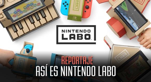 Artículo de Nintendo Labo