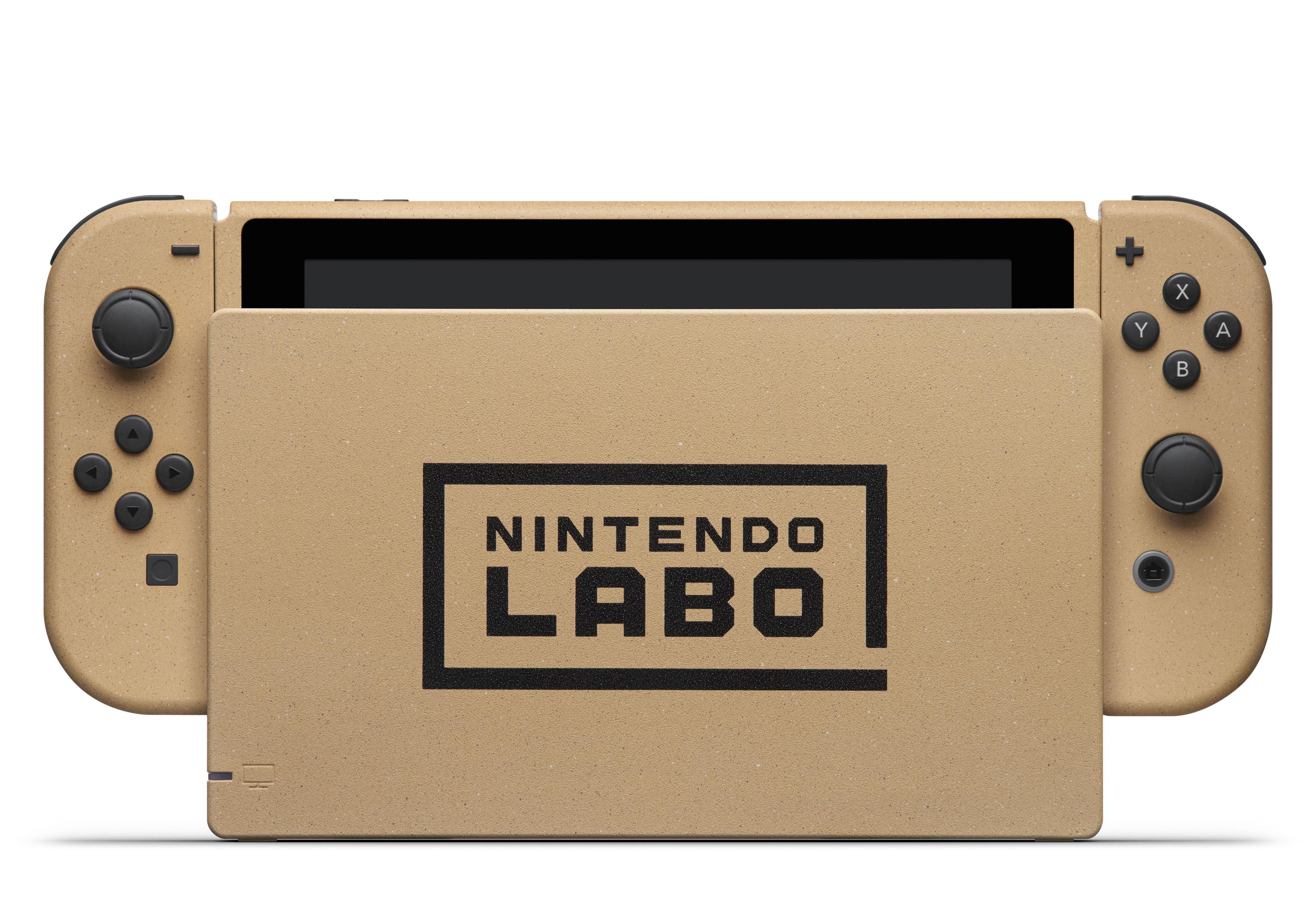 ¡A los cartones! Anunciado el Nintendo Labo Creators Contest