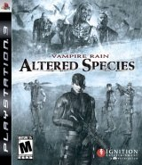 Carátula de Vampire Rain: Altered Species - PS3