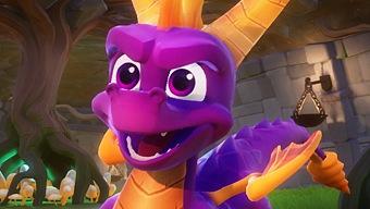 Una web oficial lista Spyro Reignited Trilogy para PC y Switch