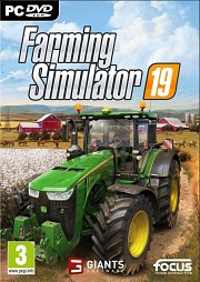 Carátula de Farming Simulator 19 - PC