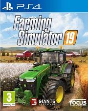 Carátula de Farming Simulator 19 - PS4
