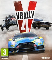 Carátula de V-Rally 4 - PC
