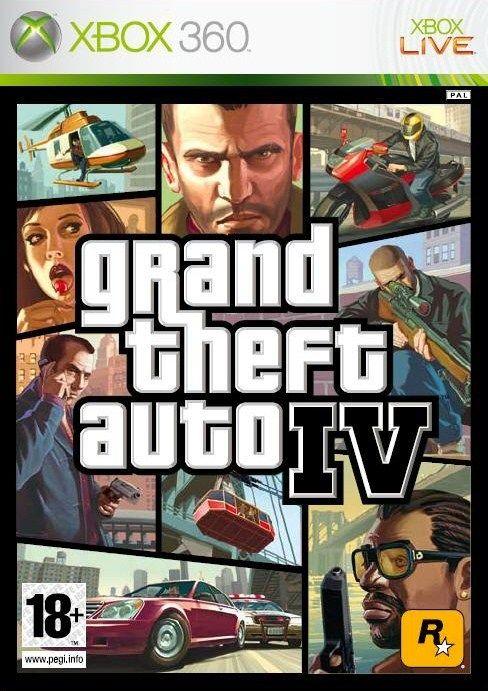 Gta 5 Xbox 360 : Grand theft auto iv para xbox djuegos