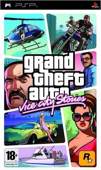 Carátula de GTA: Vice City Stories