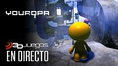 Gameplay de YOUROPA: jugando con la perspectiva