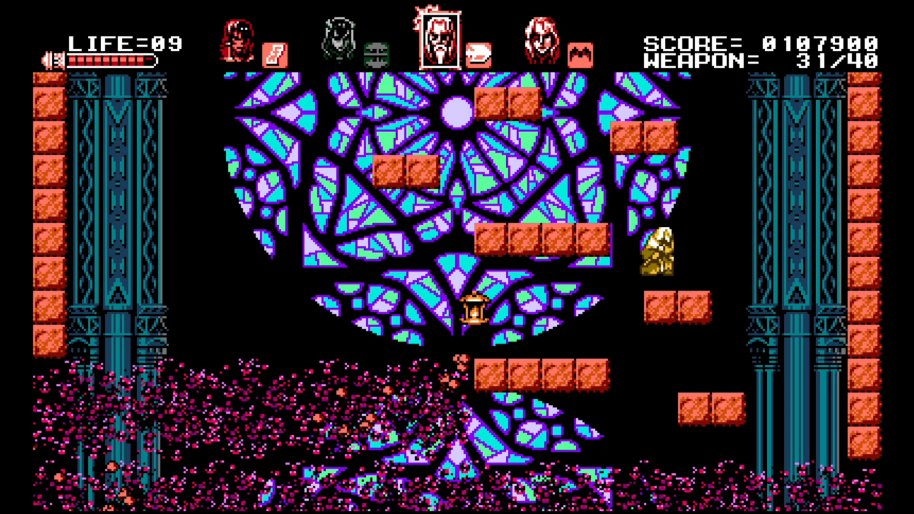 Bloodstained Curse of the Moon Vita