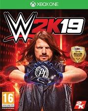 Carátula de WWE 2K19 - Xbox One