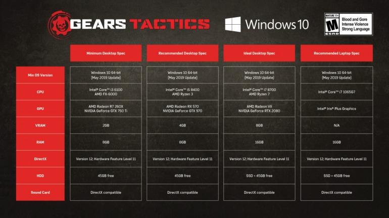 Imagen de Gears Tactics