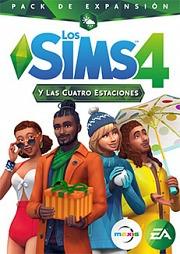 Carátula de Los Sims 4 y Las Cuatro Estaciones - Mac