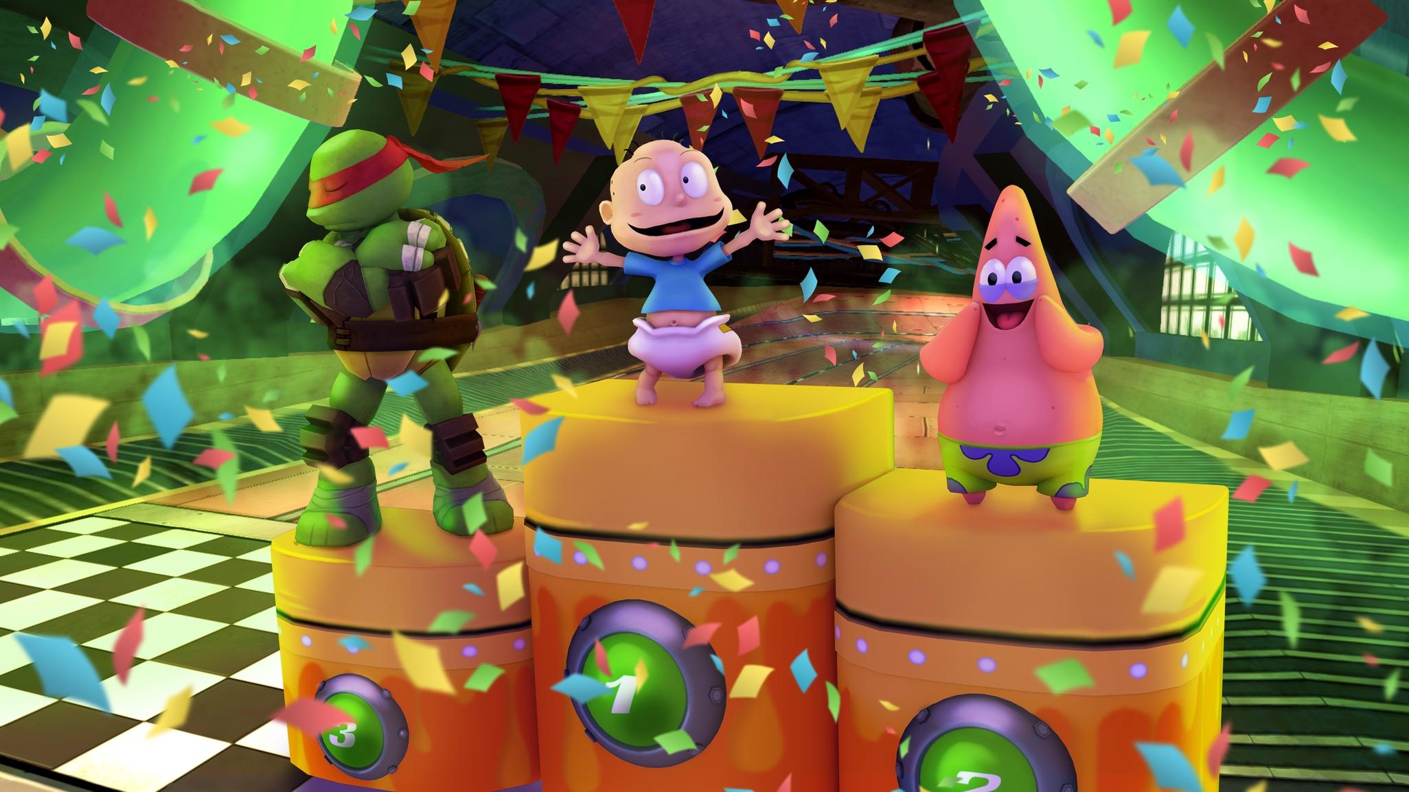 Anunciado Nickelodeon Kart Racers para consolas