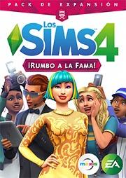 Carátula de Los Sims 4: ¡Rumbo a la Fama! - Mac