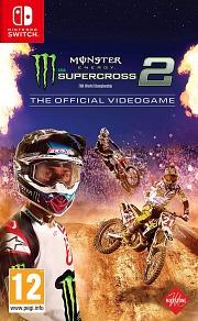Carátula de Monster Energy Supercross 2 - Nintendo Switch