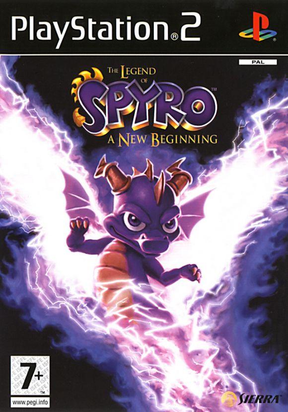 Carátula de La leyenda de Spyro