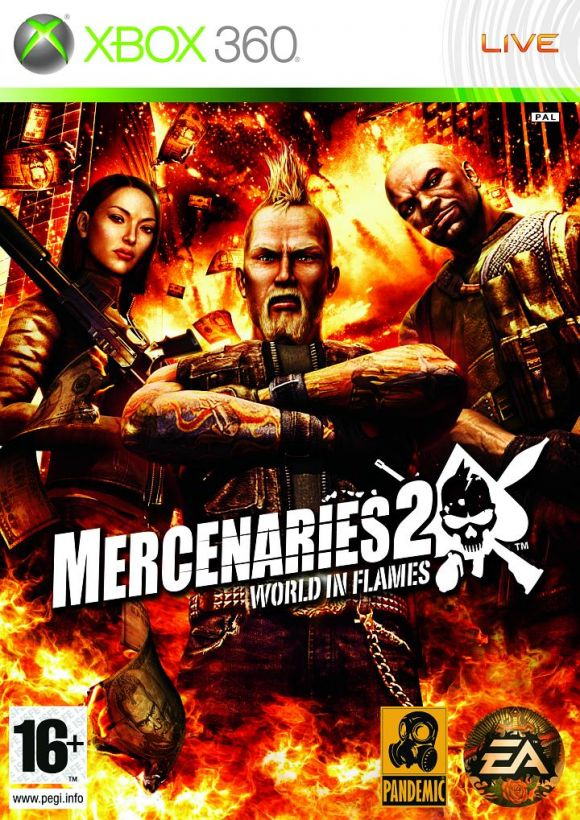 Mercenaries 2 world in flames para xbox 360 3djuegos altavistaventures
