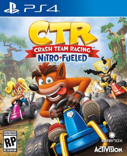 Crash Team Racing Nitro-Fueled para PS4