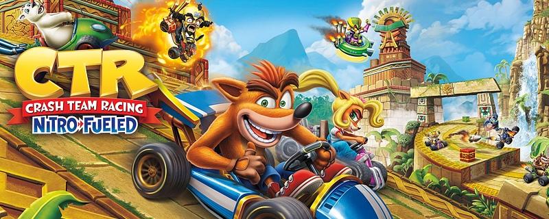Crash Team Racing Nitro-Fueled, carreras de loca nostalgia