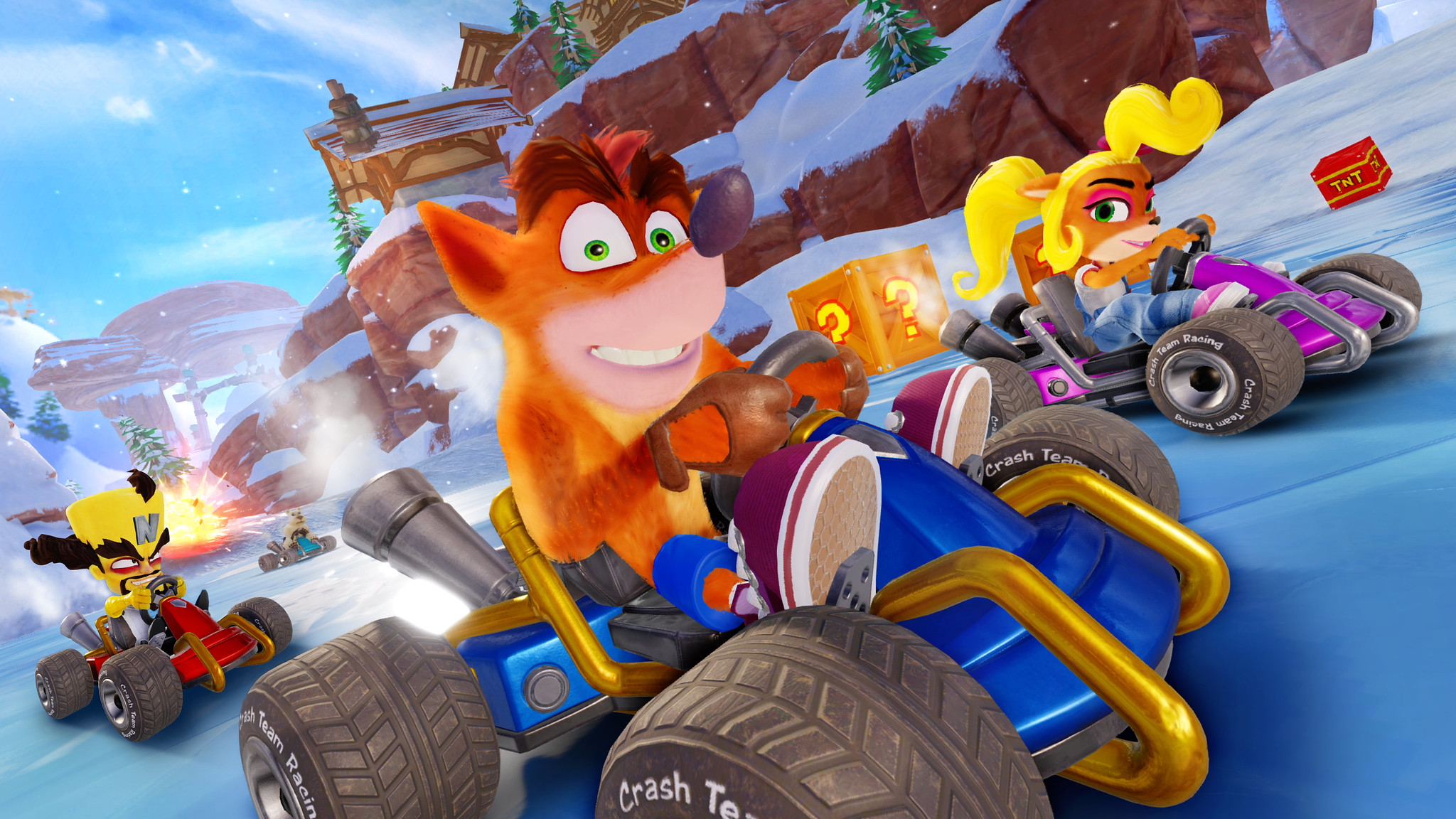 Crash Team Racing Nitro-Fueled tendrá pase de temporada gratis