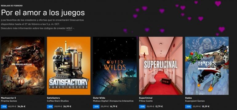 Dans Epic Games Store, trouvez