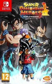 Carátula de Super Dragon Ball: Heroes World - Nintendo Switch