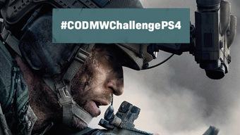 ¡Quinto desafío #CODMWChallengePS4 con Call of Duty y PS4!