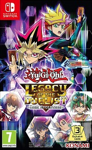 Carátula de Yu-Gi-Oh! Legacy of the Duelist - Nintendo Switch