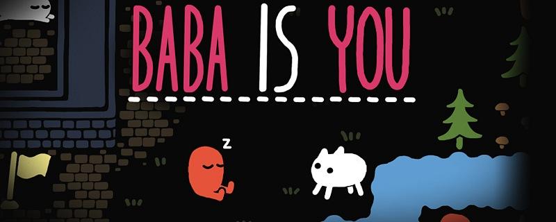 Análisis de Baba Is You. Puzle eres tú